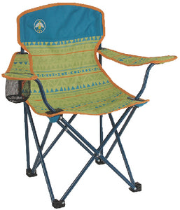Coleman Youth Quad Chair, Teal