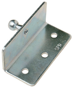 Stainless Gas Lift Hardware, Angled Mount Bracket w/Ball Stud