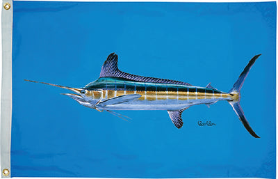 Taylor Carey Chen Offshore Fish Flag