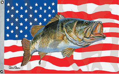 Taylor Carey Chen US Fish Flag