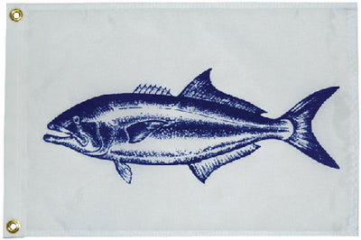 "Taylor Fisherman's Bluefish Catch Flag 12"" x 18"""