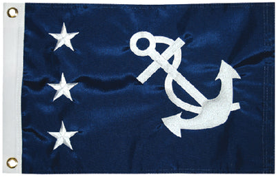 "Taylor Nylon Officers Flag 12"" x 18"""