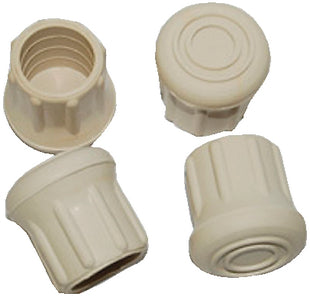 Taylor Rubber Chair Tips - White (4 Per Pack)