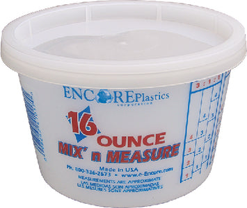 1 Pt Mix'N Measure Plast Pail