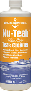 NU-TEAK One Step Teak Cleaner Qt