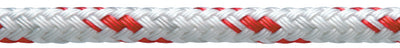 "Red Sta-Set Polyester Double Braid, 1/4"" x 600'"