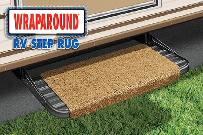 "Prest-O-Fit Wraparound RV Step Rug, 18"" Wide"