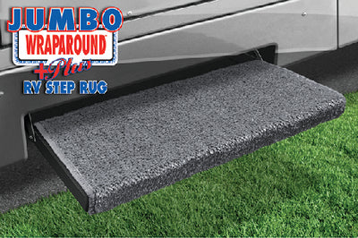 "Prest-O-Fit Jumbo Wraparound Plus RV Step Rug, 23"" Wide"