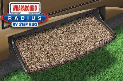 "Prest-O-Fit Wraparound Radius RV Step Rug 22"" Wide"