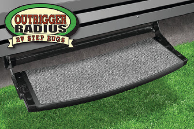 "Prest-O-Fit Outrigger Radius RV Step Rug, 22"" Wide"