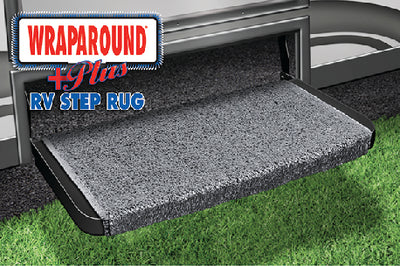 "Prest-O-Fit Wraparound Plus RV Step Rug, 20"" Wide"