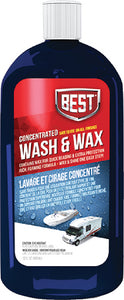 Best Wash & Wax, 32 oz Concentrate, 6/case