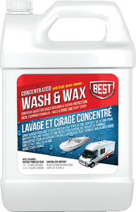 Best Wash & Wax, 128 oz Concentrate, 4/case