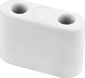 JR Products 10685 Bumper For T-Style Door Holder, Polar White