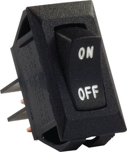 JR Products Labeled 12V On/Off Switch, Black