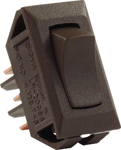 JR Products 12645 Brown SPDT On/On Switch