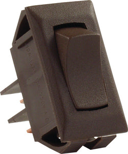 JR Products Momentary-On/Off Switch, Brown