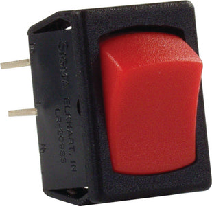 JR Products Mini 12V On/Off Switches, Red/Black