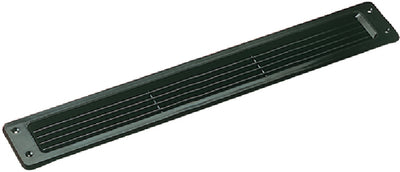 Louvered Vent Black