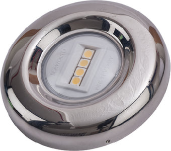 SeaDog 400033 LED Round Transom Light <SPACER TYPE=HORIZONTAL SIZE=1> USCG 2 NM Approved <SPACER TYPE=HORIZONTAL SIZE=1> #8 Fastener