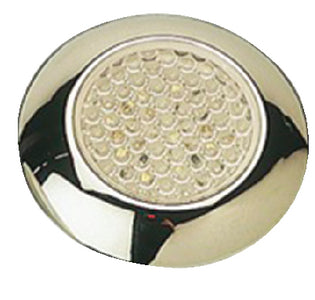 SeaDog 4016251 Chrome Plastic Housing w/White LEDs, 8 Lumens Courtesy Light