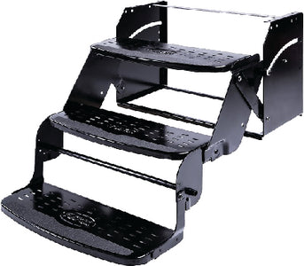 "Stromberg Carlson SMFP3100 24"" Wide Flexco Manual RV Steps, Triple"