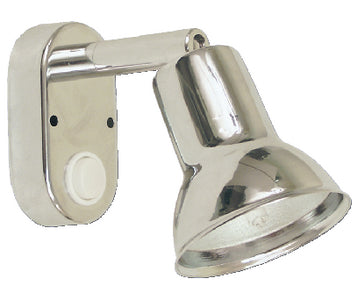 Scandvik 41366 LED Chrome Plated Brass Swivel Cabin and Reading Light
