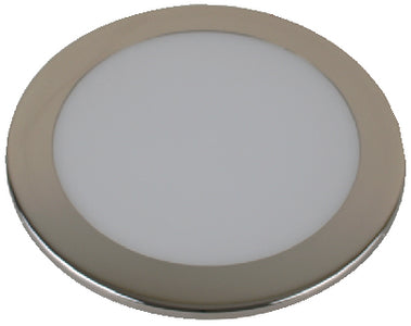 "Scandvik 41370P LED 6"" Flush Mount Ceiling Light, Warm White"