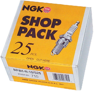 Shop Pack Spark Plugs, 713 BR8ES, 25/Pack