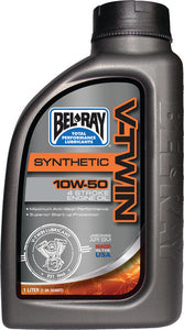 Bel-Ray V-Twin Synthetic Engine Oil, 10W-50, Liter