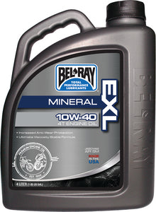 Bel-Ray EXL Mineral 4T Engine Oil, 10W-40 4-Liter