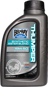 Bel-Ray Thumper Racing Works Synthetic Ester 4T Engine Oil, 15W-50 Liter