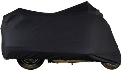 Dowco Guardian 51228-00 Indoor/Garage Breathable Motorcycle Dust Cover: Black