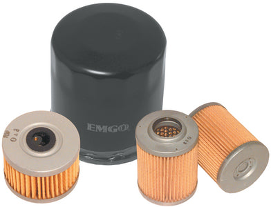 Oil Filter, Micro Glass Black