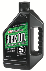 Maxima 55916 10WT Standard Hydraulic Fork Oil - 16 oz. Bottle