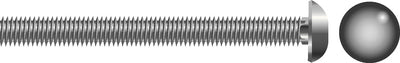 "Carriage Bolt, 1/2""-13 x 4"""
