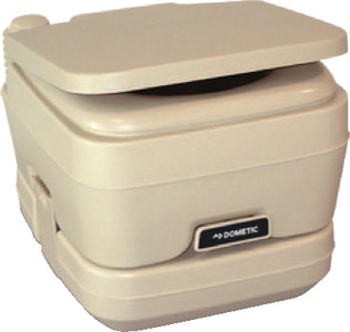 Dometic 2.5 Gallon SaniPottie 964 Portable Toilet With Mounting Brackets