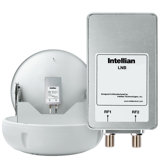 Intellian North American LNB (11.25GHz, 2 Ports) f-Use w-DIRECTV, DISH Network & Bell [S2-0808]