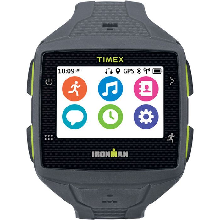 Timex Ironman One GPS+ Watch - Gray/Lime