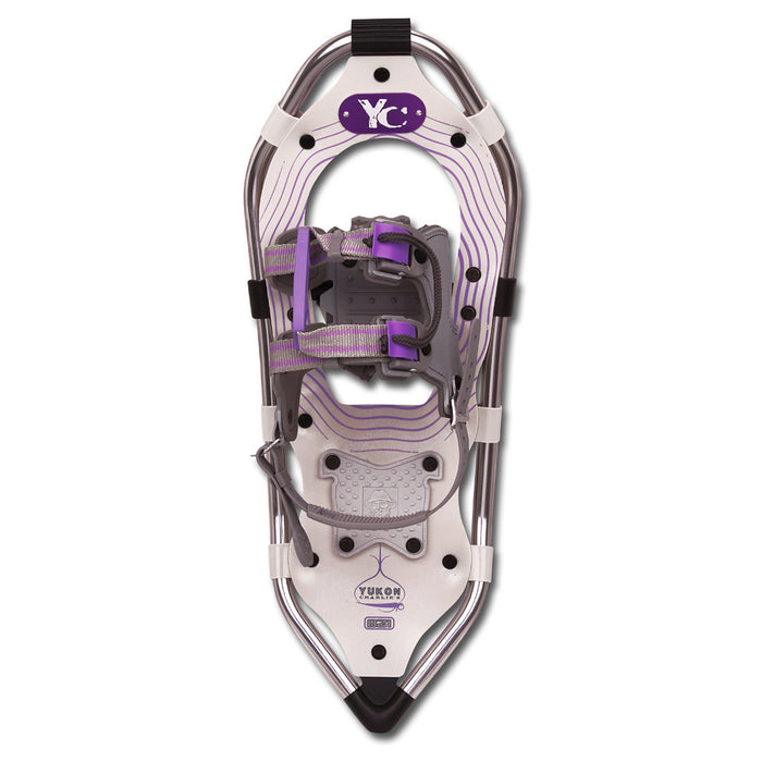 "Yukon Charlie's Advanced Series Women's Snowshoe - 8"" x 21"" - Silver/Purple"