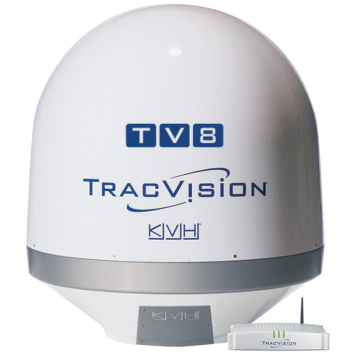 KVH TracVision TV8 w/Tri-Americas LNB - Truck Freight Only