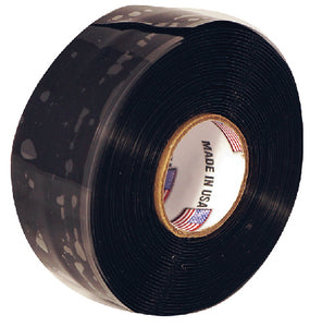 "Silicone Self-Fusing Tape 1"" x 10', Black"