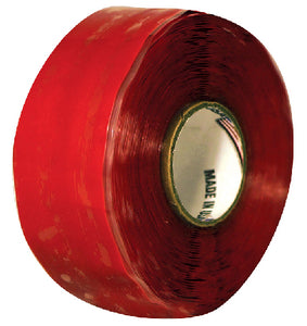 "Silicone Self-Fusing Tape 1"" x 10', Red"