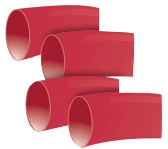 Rigid heavy wall polyolefin with a 3:1 shrink ratio provides the highest strain relief, abrasion and corrosion resistance for maximum protection in the harshest environments. Flame retardant heavy wall tubing meets MIL Spec 23053/15 Class 1 requiremen