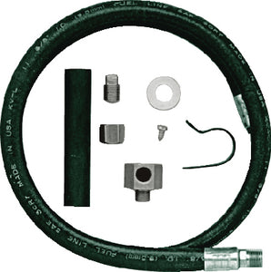 Jabsco 18080-0000 Permanent Oil Drain Hose & Fitting