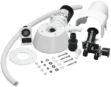 Jabsco 37255-0092 Sea or River Water Conversion Kit & Pump for Quiet Flush Electric Toilet