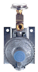 "Trident 1211-1401 Marine LPG Wall Mount Single Stage Regulator with 20"" Pigtail Hose"