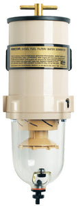 Racor 90 GPH Turbine Fuel Filter/Water Separator w/Clear Bowl, 30 Micron