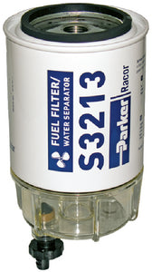 Racor 60 GPH Gas Outboard Filter With Clear Bowl
