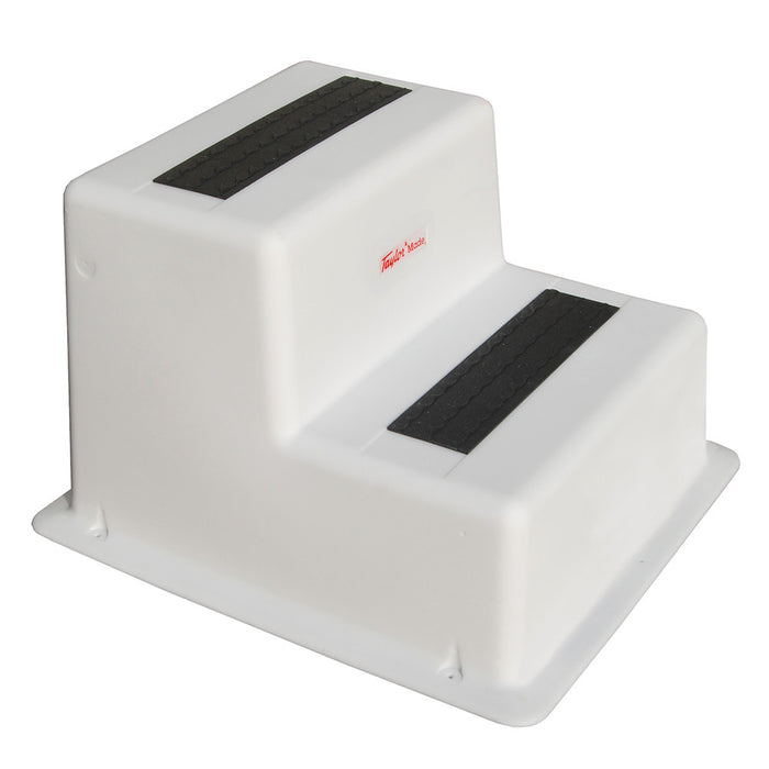 Taylor Made StepSafe™ Dock Step - Double Tread - White